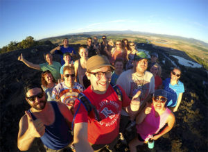 Rushmore Hiking on Table Rock Oregon adventure and meet up
