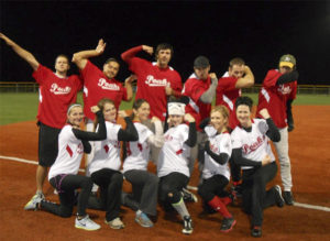 Rushmore Women's Softball Team
