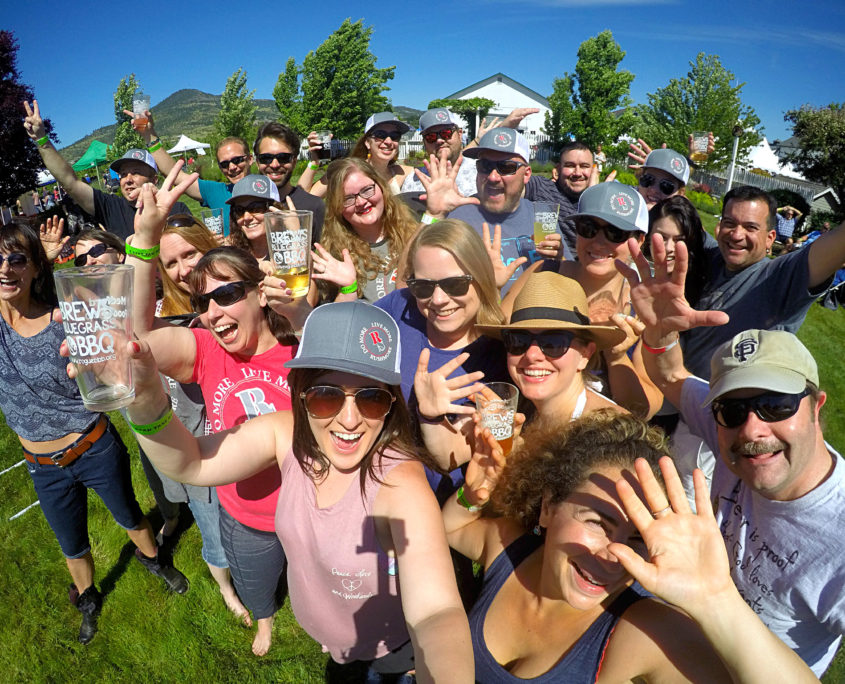 Rushmore Society at Roxyann Winery Medford Oregon