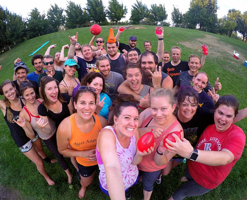 Kickball in Bear Creek Park Medford Rushmore Society