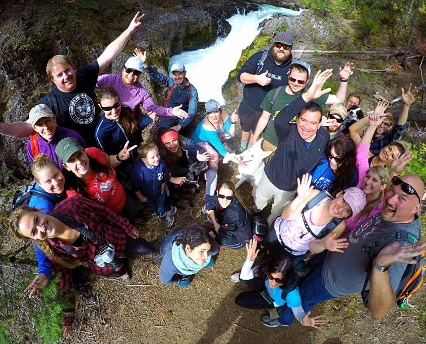 Rushmore hiking Southern Oregon Natural Bridge