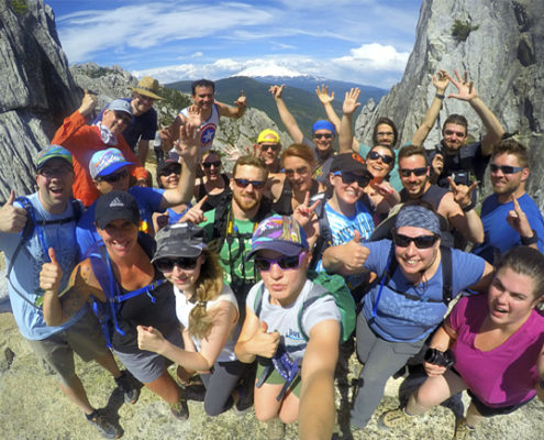 Hiking Southern Oregon and Northern California Castle Crags Rushmore Society adventure