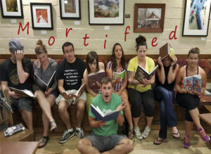 Mortified podcast sharing writing and reading Rushmore Society in Ashland and Medford Oregon